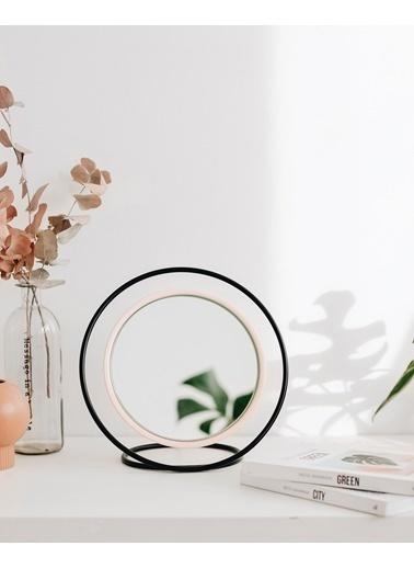 Kitbox Design Hollow Masa Aynası - Küçük Siyah
